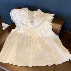 Ulla Johnson Off white blouse